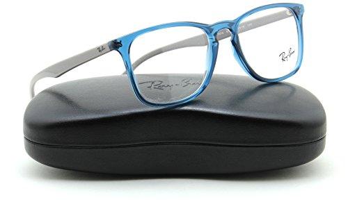 Ray-Ban RX7074 Square Unisex Eyeglasses Prescription RX -able Frame 5732, - Rayban Prescription Glasses