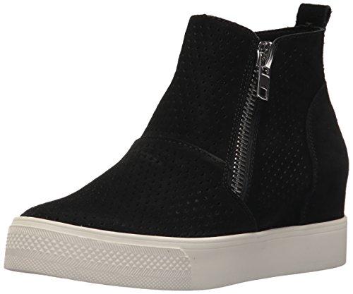 Steve Madden Vrouwen Wedgie-p Sneaker Zwart