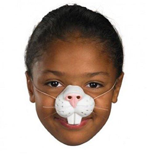 WMU Nose Rabbit with Elastic- Case of 2 (Rabbit Teeth Costume)