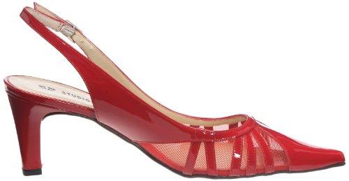 STUDIO PALOMA - Sandalias de cuero para mujer Rojo