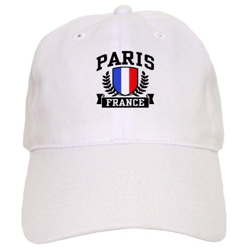 CafePress Paris France Baseball Cap with Adjustable Closure, Unique Printed Baseball Hat -