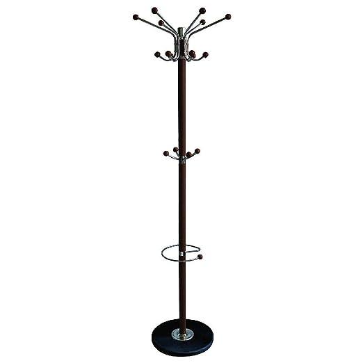 Home - Perchero de Metal con 16 Ganchos, 177,8 cm, con ...
