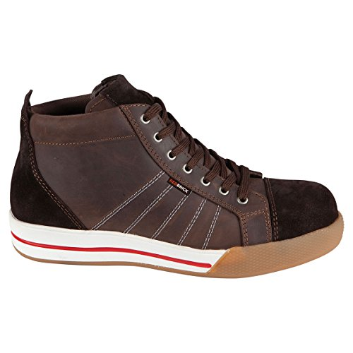 Taglia High Redbrick sicurezza Color 48 Red di Brown Brick Scarpa qHUnwHX8