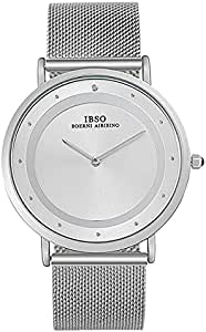IBSO Casual Watch For Unisex Analog Stainless Steel - 8269Ss user-FORYOUSHOP 2724634850883