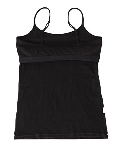 ALove Cotton Cami Tops Women Built in Shelf Bra Casual Camisoles 2 Pack XL by ALove (Image #5)