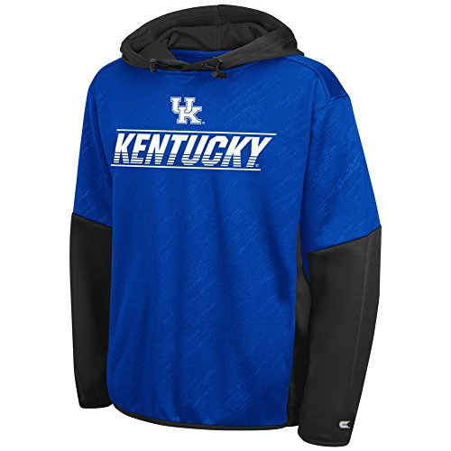 Colosseum Youth Kentucky Wildcats UK Hoodie Pullover Performance Fleece (Small)