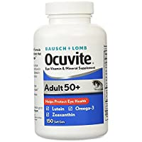 Ocuvite Eye Vitamins Adult 50 Plus for Macular Degeneration 3Pack (150 Count Each...