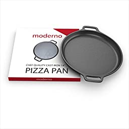 Moderno Cast Iron 14 Inch Pizza Pan
