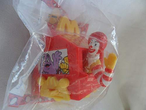 Mcdonald's Happy Meal 1994 Happy Birthday Ronald McDonald Train Car #1 Toy