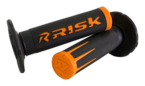 Fusion 2.0 Grip Tech Bonding System - MOTO - Grips Dirtbike Orange