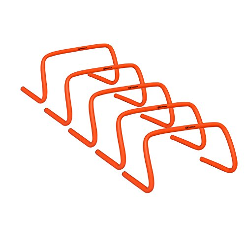 Cougar Speed Hurdles - 9 inches high Hurdles (Set of 5) by CougarFit