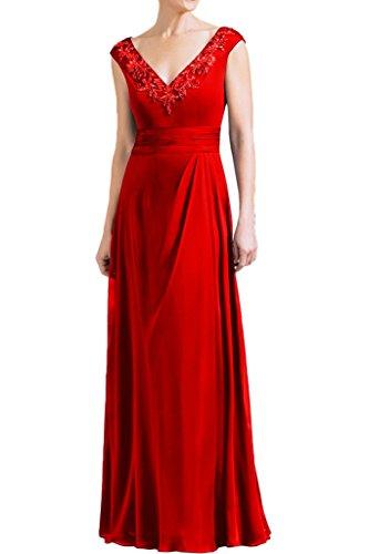 Promgirl House - Robe - Trapèze - Femme -  rouge - 50