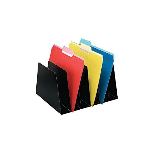 Sandusky Buddy 4560-46 - Clasificador vertical de bolsillo, color negro