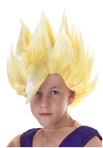 Fun Costumes Child Gohan Wig Standard Yellow -