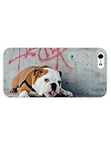 3d Full Wrap Case For Sam Sung Galaxy S5 Cover Animal Dog Chewing A Stick