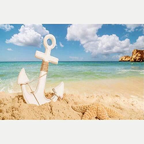 Sun Diamond Girl - Obert Fieldin 5D Diamond Painting Kit Beach Anchor Full Drill DIY Diamond Painting Embroidery Cross Craft Stitch Home Decor Art