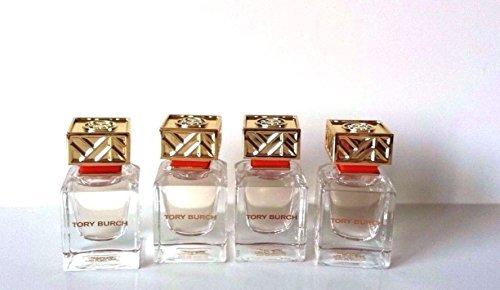 4 Tory Burch Eau de Parfum Splash Perfume 7ml / 0.24 *4= 1oz FULL Size NO ()