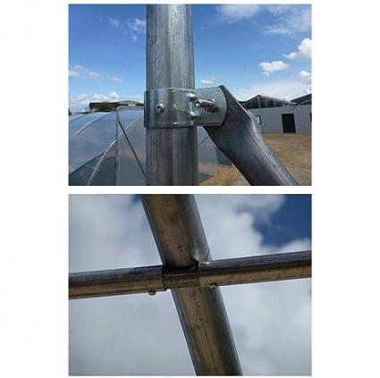 Serre en Direct ABRICAR - Ancho 5 m x Longitud 10, 50 m x Altura 3 ...