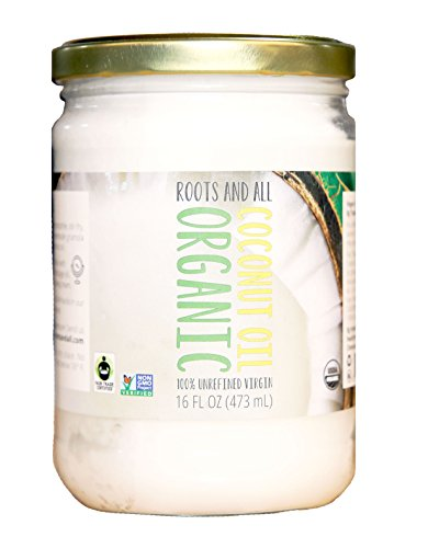 Organic Virgin Coconut Oil For Cooking, Baking, and Beauty,