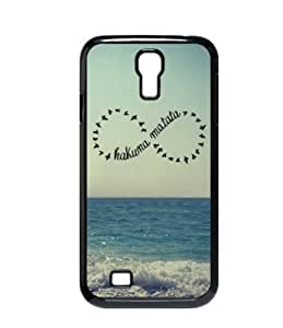 Beautiful Beach Hakuna Matata For Samsung Galaxy S4 I9500 Durable Plastic Case-Creative New Life like-new, retail package, never opened, resale