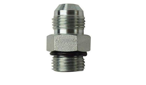 Continental Hydraulic Adapter Fitting JIC 37 Male OR BOSS Male 1 1//16-12 X 7//8-14