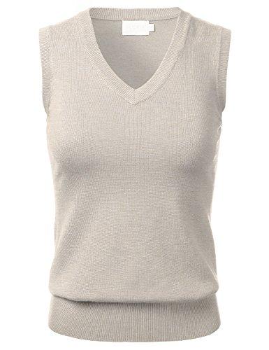 Knit Sleeveless Vest - 3