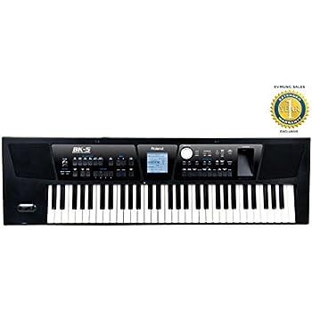 Roland bk 5 61 key arranger workstation for Yamaha psr ew300 review