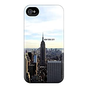 DaMMeke Case For Iphone 4/4S Cover Well-designed Hard New York Protector