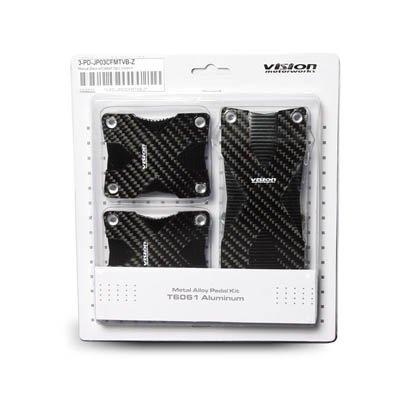 Amazon.com: Universal M/T Black Carbon Padel set (3pcs ...