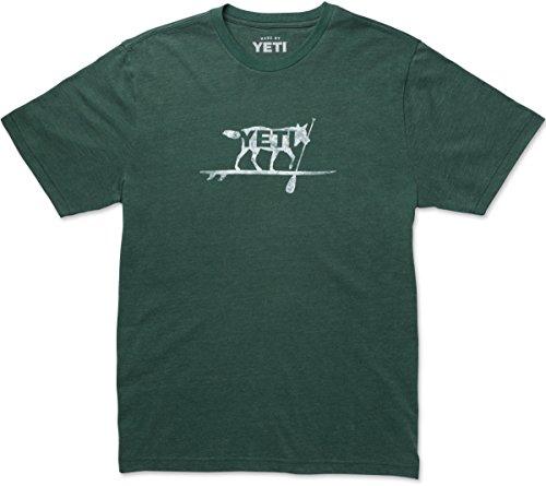 Paddle On T-Shirt, Short Sleeve, Medium, Forest Green Heather ()