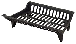 Panacea Products Corp 18\' Blk Cast Iron Grate 15418 Fireplace Grates & Andirons