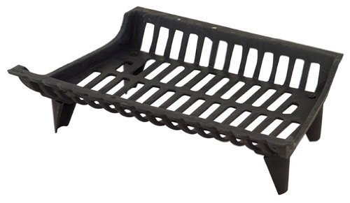 Panacea Products Corp 18' Blk Cast Iron Grate 15418 Fireplace Grates & (Fire Grate)