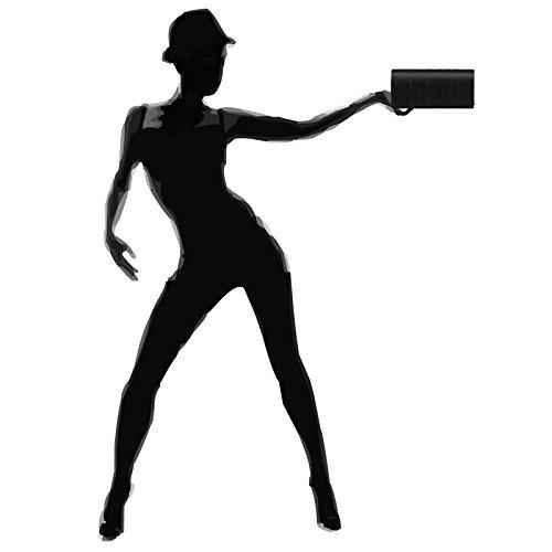 CASPAR Fashion - Cartera de mano para mujer negro