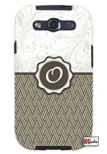 Cool Painting Monogram Initial Letter O Unique Quality Hard Snap On Case for Samsung Galaxy S4 I9500 - White Case