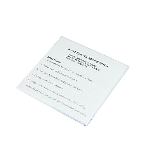 5 Plastic Repair Patches for Vinyl Inflatables (Repair Pack)