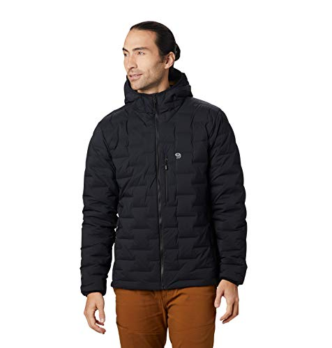 Mountain Hardwear Super/DS Hooded Men's Insulated Jacket for Hiking, Camping, Climbing and Everyday