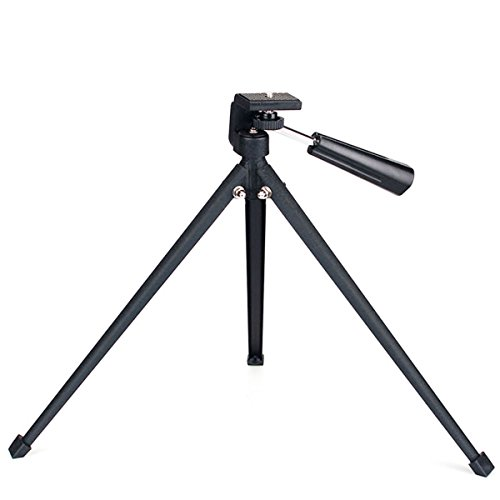 SVBONY Tabletop Tripod Portable Compact Tripod Folded Tripod for Spotting Scopes DLSR Camera Monocular Binocular Medium-Sized Telescopes