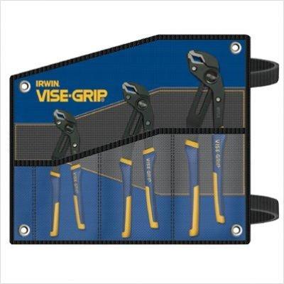 GrooveLock Pliers Kit Bag Set - 3-Pc by American Tool Exchange