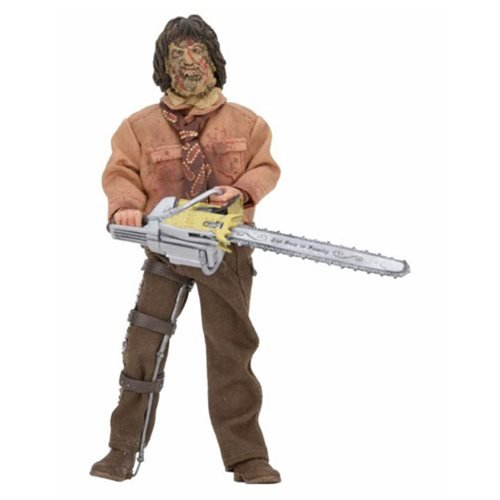 Texas Chainsaw Massacre 3 Leatherface 8-Inch Retro Action Fi