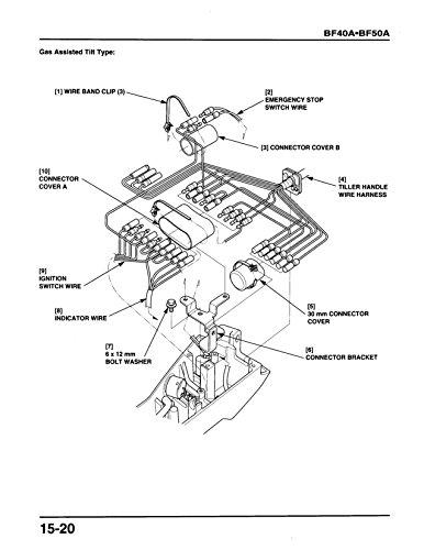 Amazon Com Honda Bf40a Bf50a Outboard Engine Repair Service