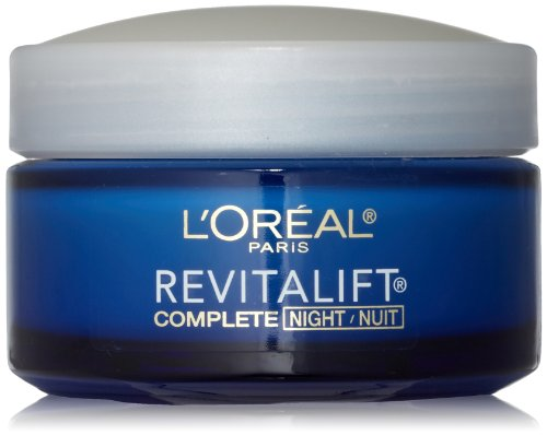 L'Oreal Paris, RevitaLift Anti-Wrinkle + Firming Night Cream Moisturizer 1.7 (Loreal Face Moisturizer)