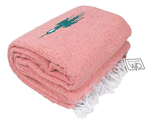 Open Road Goods Peach/Light Pink Yoga Blanket