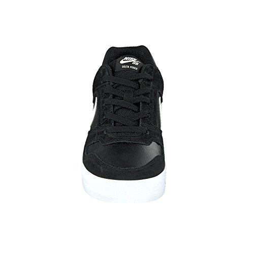 Nike Mens Sb Deltakracht Vulc Skateschoen Obsidiaan / Obsidiaanzwart