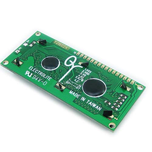 2Pcs Yellow Backlight 1602 Character LCD Display Module by Anddoa (Image #2)