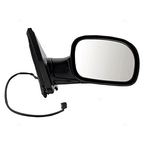 Town & Country Van Mirror - Power Side View Mirror Smooth Passenger Replacement for 01-07 Dodge Caravan Chrysler Town & Country Voyager Van 4857876AC