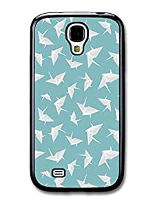 Origami Paperfolding Swans Illustration Pattern carcasa de Samsung Galaxy S4 A411