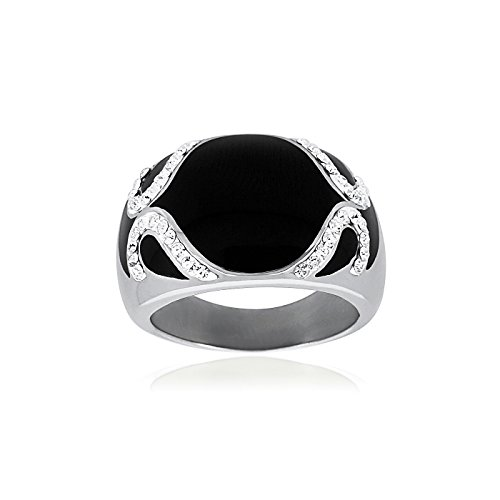FASHIONVICTIME Ring For Women By Stainless-Steel Jewel - Zirconia