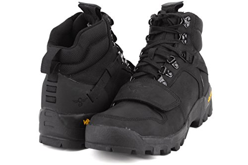 Recreación Creativa Dio Botas Hombres Zapatos Size Negro / Negro
