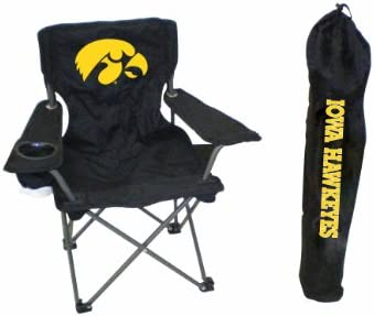 Tremendous Rivalry Ncaa Iowa Hawkeyes Youth Folding Chair With Carrying Case Beatyapartments Chair Design Images Beatyapartmentscom