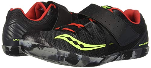 Saucony Unleash SD 2 Unisex 9 Black | Red by Saucony (Image #6)
